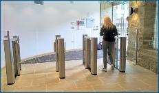 Security Entrance Lanes