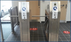 Coin Operated Turnstiles and Gates